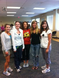 A few of our council members at training with GOTR founder, Molly Barker.